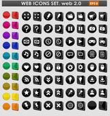 Web icons set. — Stock Vector