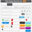 Web design elements set — Stock Vector #12088281