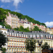 City center in Karlovy Vary — Stock Photo #11644796