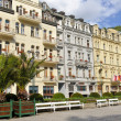 Stock Photo: City center in Karlovy Vary