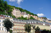 City center in Karlovy Vary — Stock Photo
