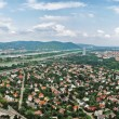 Aerial view of Viennar. Austria — Stockfoto