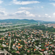 Aerial view of Viennar. Austria — Stock Photo