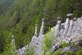 Kvitskriuprestein, natural phenomenon — Stock Photo