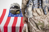 Military funeral — Stock Photo