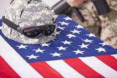 Militärisches begräbnis — Stockfoto
