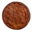 Foto Stock: Rusty tin lid