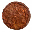 图库照片: Rusty tin lid