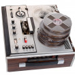 Stock Photo: Retro audio tape recorder