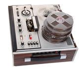 Retro audio tape recorder — Stock Photo