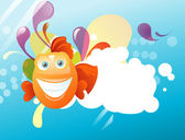 好玩的鱼 — 图库矢量图片