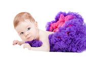 Güzel küçük bir bebek kız — Stok fotoğraf