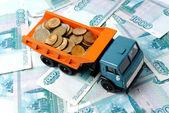Transportation Money — Stock Photo