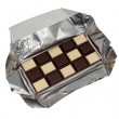 Food collection - Black and white chocolate — Stock Photo #12296097