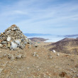 Stock Photo: Stone mound
