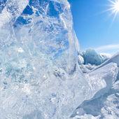 Zimní bajkal — Stock fotografie