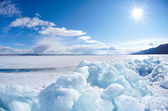 Winter baikal — Stockfoto