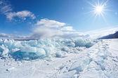 Winter-baikal — Stockfoto