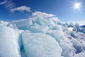Inverno baikal — Foto Stock