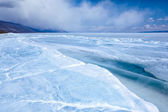 Baikal in winter — Stock Photo