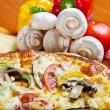 Pizza — Stockfoto #10818762