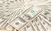 美元无缝背景 — 图库照片