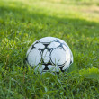 Stock Photo: Soccer ball or football ball