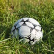 Soccer ball or football ball — Stock Photo
