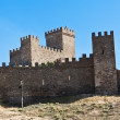 Genoese fortress in Sudac — Stock Photo