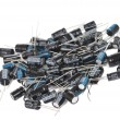 Capacitor bunch — Stock Photo