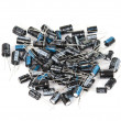 Stock Photo: Capacitor bunch