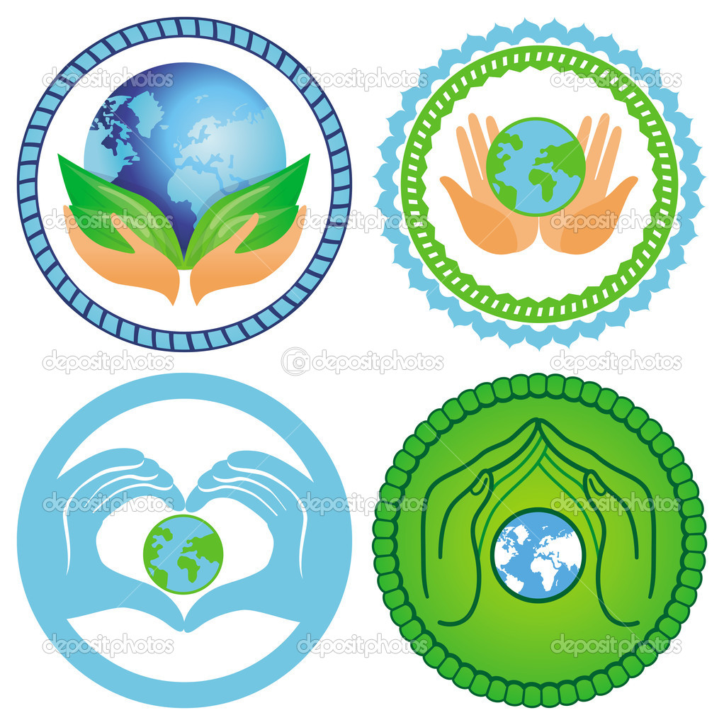 Эмблема экологии своими руками 75
