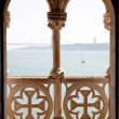 balcony in tower of belem — Stock Photo