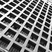 Edificio con balcones — Foto de Stock