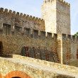The Castelo de Sao Jorge - Stock Photo
