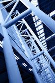 Abstrakt arkitektoniska uppbyggnaden — Stockfoto