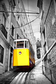 Lisbon's funicular — Stock Photo