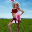Cheerleader — Stock Photo #11347713