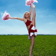 Cheerleader — Stock Photo #11347721
