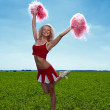 Cheerleader — Stock Photo #11347732