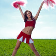 Cheerleader - Stock Photo