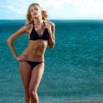 Sexy woman on beach — Stock Photo #11347948
