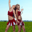 Cheerleader — Stock Photo #11415394
