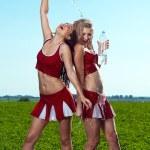 Cheerleader — Stock Photo #11415394
