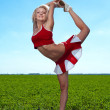 Cheerleader — Stock Photo #11415416