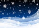 Kar yağışı — Stok fotoğraf