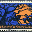 USA - 1974: shows Legend of Sleepy Hollow, by Washington Irving - Stock fotografie
