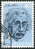 SWITZERLAND - 1972: shows Albert Einstein (1879-1955), physicist — Stock Photo