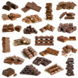 Chocolate collection — Stock Photo