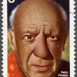 Stock Photo: POLAND - 1981: shows Pablo Picasso (1881-1973), artist, birth centenary